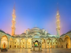 The Suleymaniye Mosque in Istanbul, Turkey - stock photo