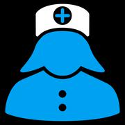 Nurse Icon - stock illustration