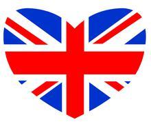 Love Britain Stock Illustration