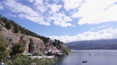 Kaneo, Ohrid Lake - stock footage