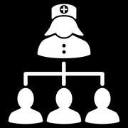 Stock Illustration of Nurse Patients Icon