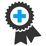 Medical Quality Seal Icon Stock Illustration