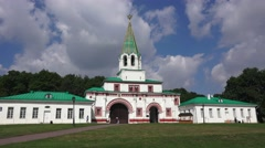 The Front Gates, Kolomenskoye, Moscow, Russia. Stock Footage