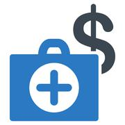 Payment Healthcare Icon - stock illustration