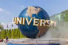 Universal Studios in Osaka, Japan - stock photo