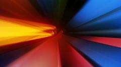 colorful light streaks - stock footage
