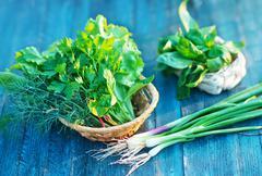 aroma herb - stock photo