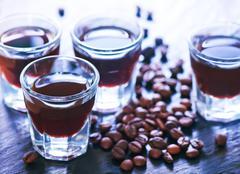 coffee liquor - stock photo