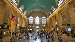 Grand Central Station in New York City - stock footage