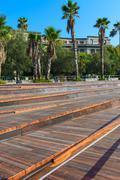 Salerno - Beach of Santa Teresa. Stock Photos