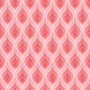 Pink flame pattern Stock Illustration