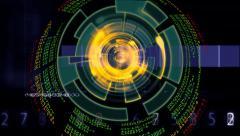 System Access Control. Sci-fi Arkistovideo