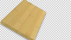 Chopping Board, Cutting Board Fliping 01 Stock Footage