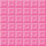 Pink pattern quilt effect with buttons - stock illustration