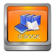 E-Book Button Stock Illustration