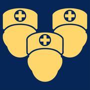 Medical Staff Icon Stock Illustration
