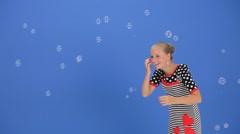 Soap Bubbles - stock footage