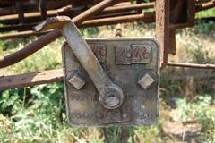Transmission of braking force - stock photo