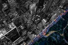 New York aerial Stock Photos