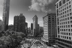 New York Flatiron Stock Photos