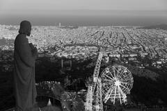 Barcelona Tbidabo - stock photo