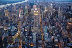 New York aerial Stock Photos