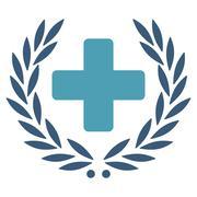 Medical Glory Icon Stock Illustration