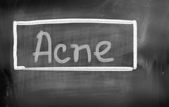 Acne Concept Stock Illustration