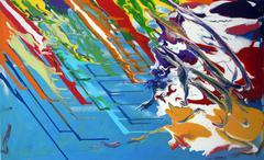 Paint Flow - stock illustration