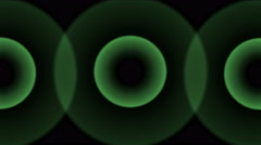 4k Circle ring pulse background,radar signal wave radiation,radio ripple tunnel Stock Footage