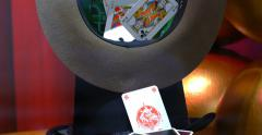 Stetson Hat And Card Game Stock Footage