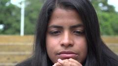 Stock Video Footage of Sad Woman, Depressed Youth, Feelings