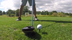 Stock Video Footage of golf swing 2