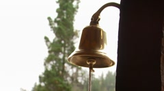 Close-up of bell Stock Footage