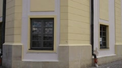Hall town in Bielsk Podlaski Stock Footage