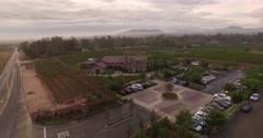 Vineyard B Aerials 4k Stock Footage