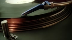 Turntable Detail Stock Footage