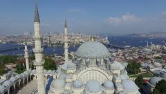 Istanbul Suleymaniye Mosque Stock Footage