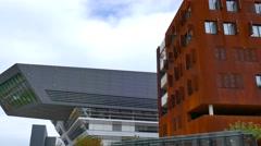 University of Economic Sciences, Vienna, Austria Stock Footage