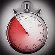 Stock Illustration of Measure the time