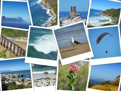 Stock Photo of Cape of good hope -  instant pictures collage