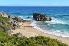 savage beach -  Cape of good hope - stock photo