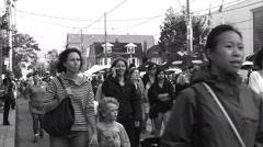 Roncesvalles Polish Festival, Toronto 2015 Stock Footage