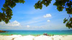 Koh Samet beach Stock Footage
