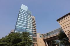 Cyberport , hong kong Stock Photos