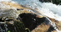Closeup of Waterfall Stock Footage