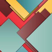Material design background Stock Illustration