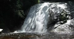 Natural rainforest waterfall at Malaysia  Stock Footage