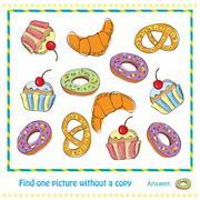 Vector Illustration - Educational Game for Children - stock illustration