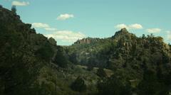 Timelapse colorado mountain landscape Stock Footage